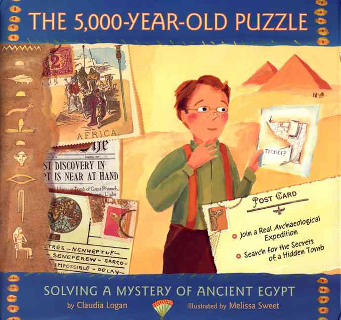 5,000-Year-Old Puzzle By Logan, Claudia/ Sweet, Melissa (ILT)